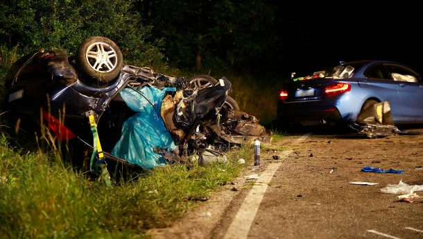 Drei Tote bei Autounfall in Baden-Württemberg