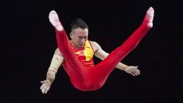 Chinese Xiao Ruoteng neuer Mehrkampf-Weltmeister