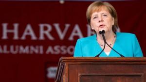 """Merkel: """"Reißt Mauern der Ignoranz ein"""""""