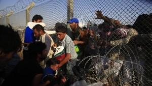 Tausende Syrer flüchten in die Türkei