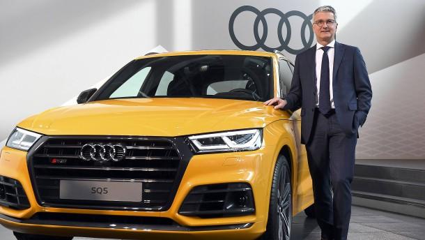 Früherer Audi-Chef Stadler muss vor Gericht
