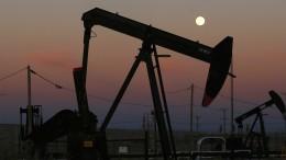Ölpreis sinkt wegen Amerikas Handelsstreit