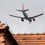 Fluglärm: Die Awo klagt auf Entschädigung für Flüchtlingsheim in Frankfurt-Niederrad. (Symbolbild)