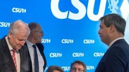 Zwei Könige für die CSU