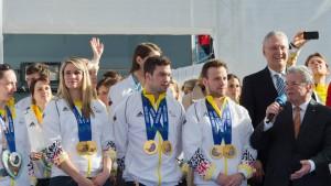 Gauck sagt Ja zum Spitzensport