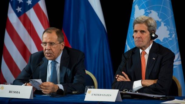 Offener Streit zwischen Russen und Amerikanern nach Luftangriff