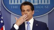 Der neue Kommunikationsdirektor im Weißen Haus Anthony Scaramucci