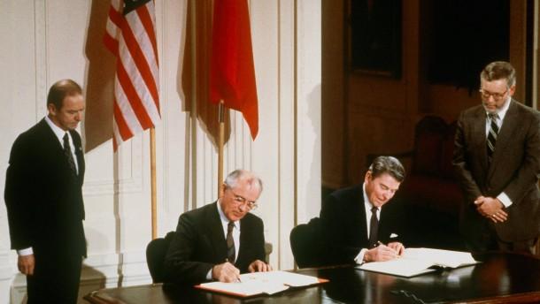 Vereinigte Staaten erklären INF-Vertrag für beendet