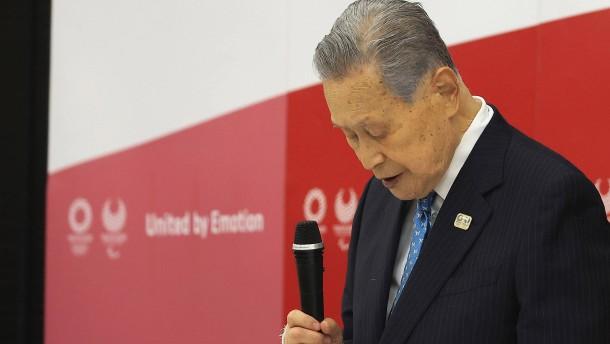 Japans Olympia-Cheforganisator tritt zurück