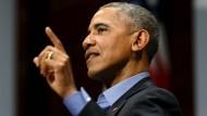 Präsident Barack Obama fordert gesellschaftliches Engagement von der Tech-Gemeinde.