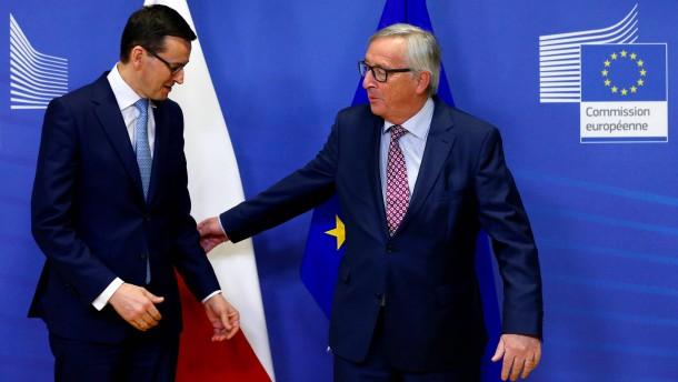 Warschau bleibt widerspenstig