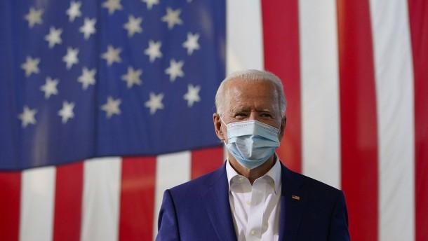 Biden attackiert Trump für Umgang mit Covid-19-Erkrankung