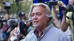Trump-Berater Bannon soll vor Gericht