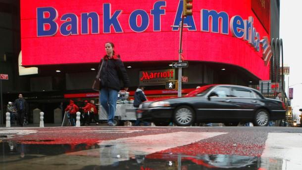 Bank of America muss 335 Millionen Dollar zahlen