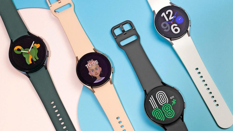 Schnörkellos: Die neue Galaxy Watch 4 von Samsung