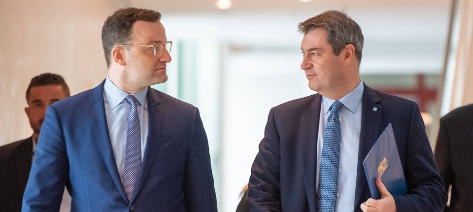 Mehrheit für Spahn als CDU-Chef und Söder als Kanzlerkandidat