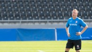 Verletzte sich beim 0:0 gegen Fortuna Köln schwer: Patrick Ochs