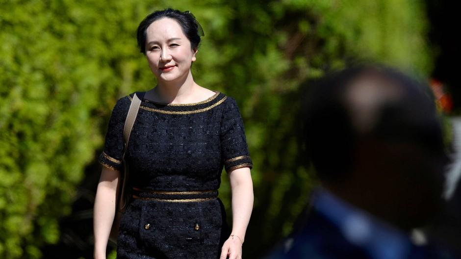Könnte bald an die Vereinigten Staaten ausgeliefert werden müssen: Huawei-Finanzchefin Meng