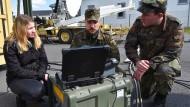 Cyber Day bei der Bundeswehr: Die Armee wirbt um Computer-Spezialisten.