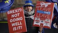 Kein Ende in Sicht: Die Brexit-Verhandlungen laufen weiter schleppend.