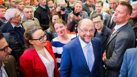 """Schulz: """"Trump läuft mit der Abrissbirne durch unsere Grundwerte"""""""