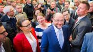 Schulz: Trump läuft mit der Abrissbirne durch unsere Grundwerte
