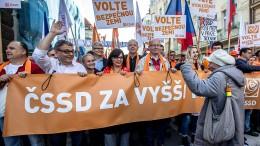 Ein politisches Beben in Prag