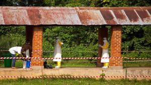Ebola-Fall in Millionenstadt in Kongo bestätigt