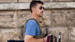 Großbritannien fahndet nach Foley-Mörder