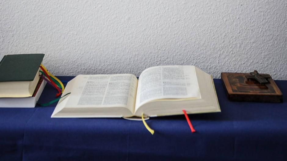 Die katholische Hochschule Sankt Georgen - hier eine Stube im Priesterseminar - beteiligt sich am interreligiösen Graduiertenkolleg
