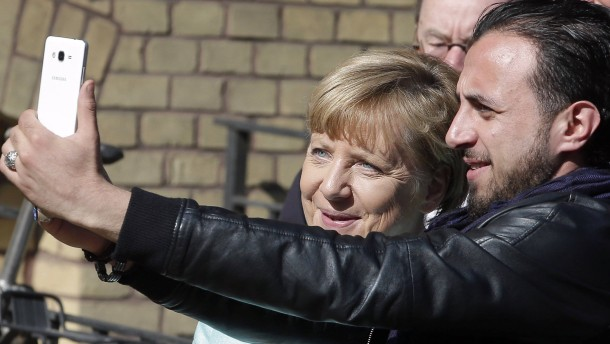 """""""Mutter Merkel"""" im Nordirak"""