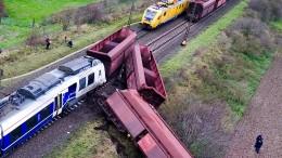 Regionalexpress krachte in Güterzug