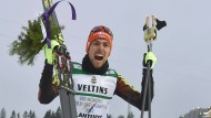 Drei Starts, drei Siege: Johannes Rydzek bei der Nordischen Ski-WM