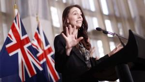 Neuseelands Ziel sind 90 Prozent