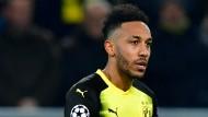 Dortmund verzichtet auch in Berlin auf seinen besten Stürmer Aubameyang