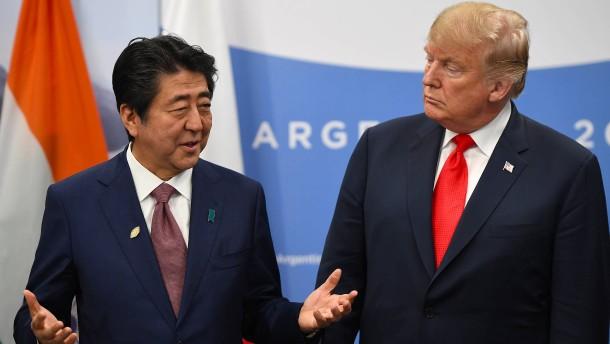 Amerika bittet Japan um Trump-Nominierung für Friedensnobelpreis