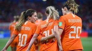 Niederlande ziehen ins WM-Finale ein