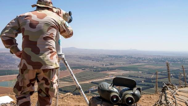 """""""Amerika soll Israels Souveränität über Golanhöhen anerkennen"""""""