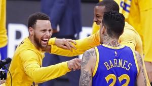 Golden State Warriors unaufhaltsam zum NBA-Titel