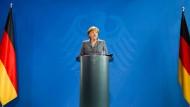 Merkels Erklärung zum Fall Böhmermann vom 15. März bleibt in jeder Einzelheit umstritten.