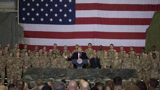 Amerikaner beginnen Truppenabzug