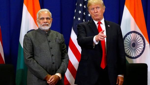 Trump will Indien und Türkei Vergünstigungen streichen