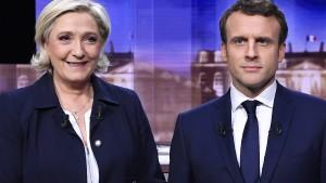 Frankreich steht vor der Entscheidung