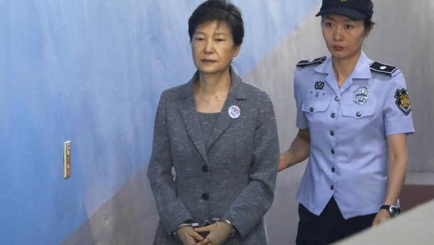 25 Jahre Gefängnis für Südkoreas ehemalige Präsidentin