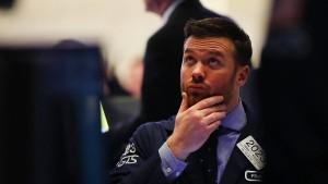 Deutsche und amerikanische Aktien sacken nach unten