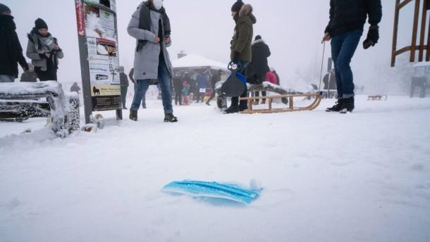 Schneegebiete