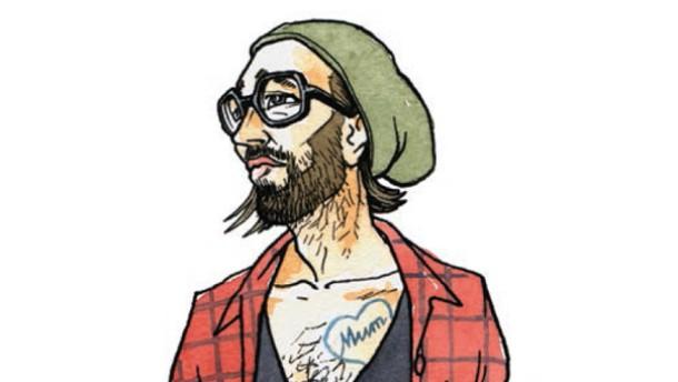 Hipster Illu
