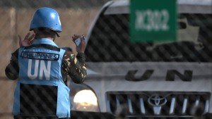 UN-Blauhelmsoldaten befreit
