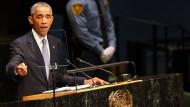 Obama ruft die Welt zum Kampf gegen IS-Miliz auf