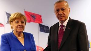 Erdogan wird Merkel treffen